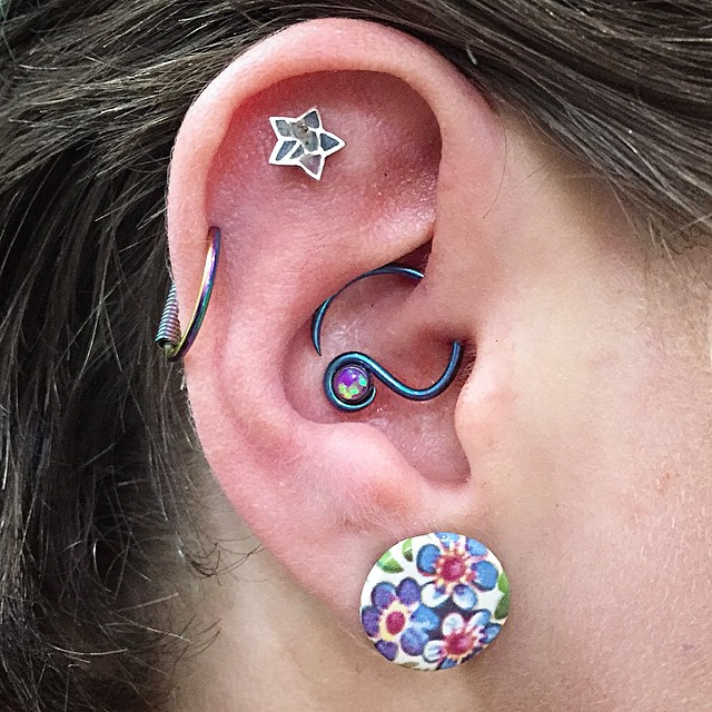 Ear piercing holier than thou for Holier than thou tattoo